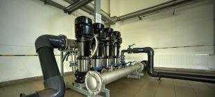 Usługi wykonywane na sieci wodociągowej